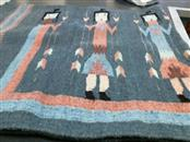 NATIVE AMERICA RUG American Indian Blanket/Rug NATIVE AMERICA RUG
